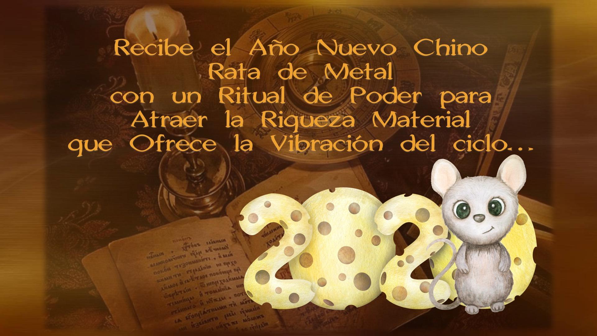 Ritual de Poder Año Chino 2020 Rata de Metal