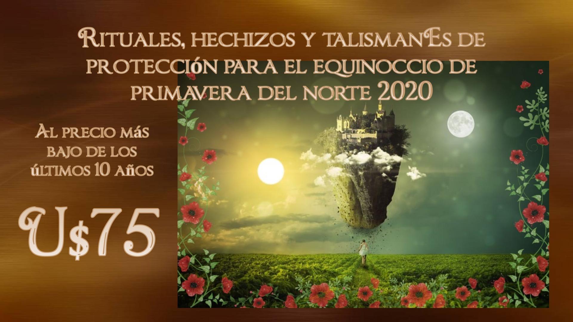 Reserva Ahora Servicio Esotérico Equinoccio de Primavera 2020